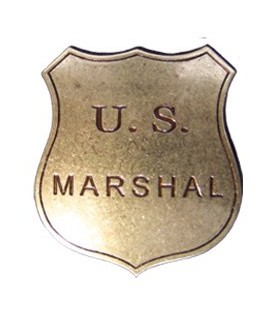 Placa US Marshal