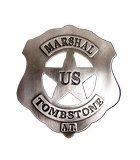 Plaque de U.S. Marshal Tombstone