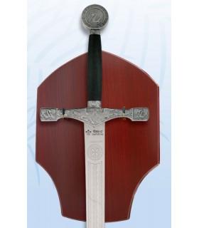 Excalibur épée avec fixation au mur