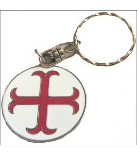 Croix templière clé ancré