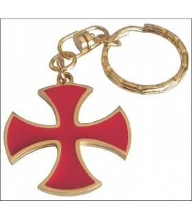 Coup Croix des Templiers Keychain