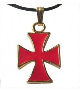 Croix Templière Pendentif