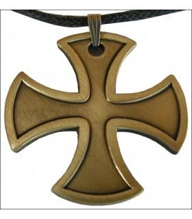 Templar pendentif croix coup