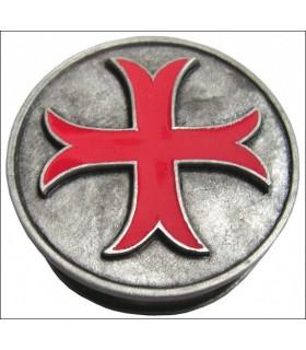 Pilulier Templar coup croix