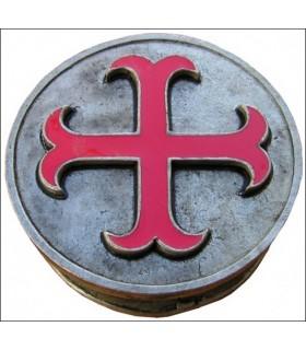 Templar pilulier ancré croix
