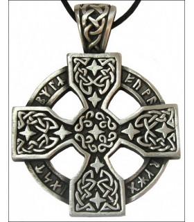 Pendentif celtique roue Runic