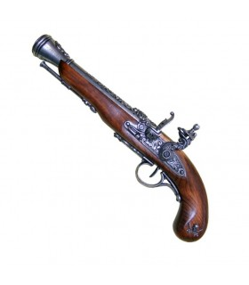 Pirate Pistol susciter XVIIIe siècle (à gauche)