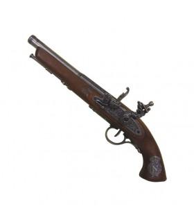 Pistolet à silex, le français du XIXe siècle. (Main gauche)