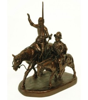 Figures Don Quichotte et Sancho Panza (petit)
