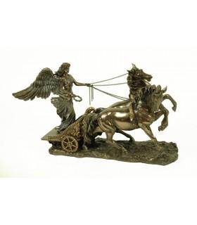 Belle déesse grecque figure de la Victoire