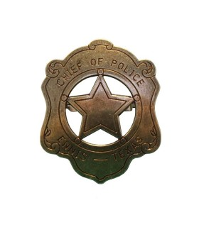 Police plaque chef