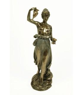Figure grecque Hebe, 31 cms.