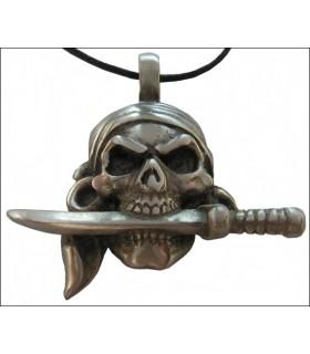 Couteau pendentif Pirate dans la bouche