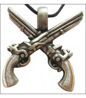 Hanging pirates pistolets
