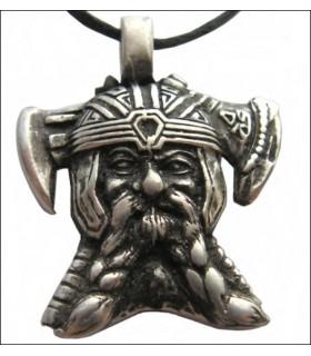 Pendentif chef Viking