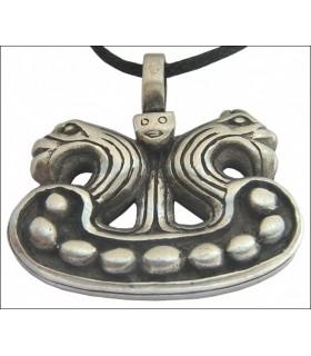 Viking têtes pendantes