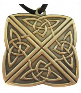 Noeud celtique pendentif 4 voies