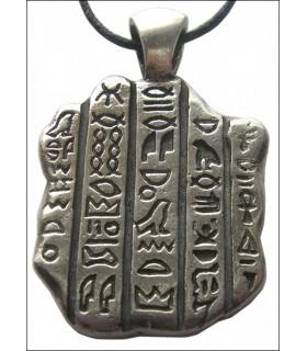 pendentif en pierre égyptienne Rosatta