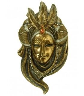 masque vénitien collier de perles