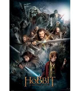 Affiche Le Hobbit, Un voyage inattendu, 61x91 cm.