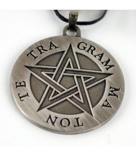 Tétragramme pentagramme Pendentif