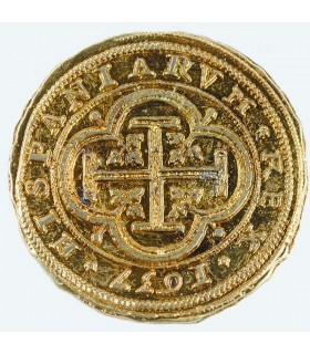100 escudos pièce d'or, 4 cm.