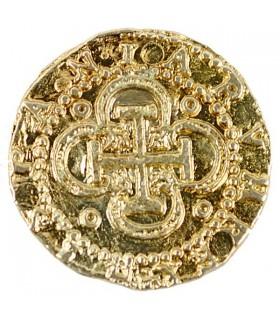Pièce de 2 escudos or, 3 cm.
