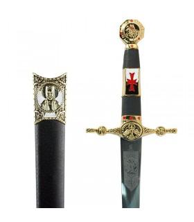 poignard orné Templiers