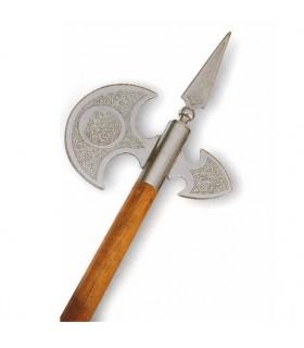 Hache médiévale ans, 61 cms.