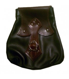 Sac celte noir-marron
