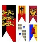 Etendards Médiévales